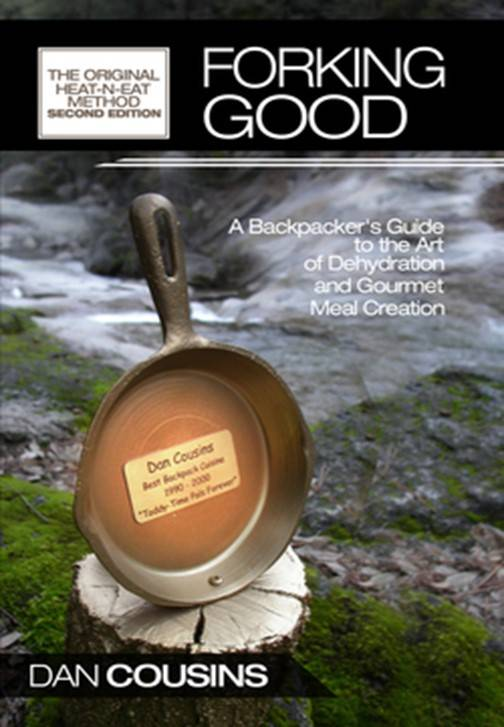 cover of Forking Good Backpacking Cookbook