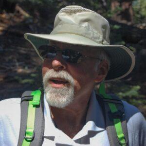 older male hiker